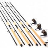 Lanseta - Kit 4 lansete Sponnong 3, 3. cu 4 mulinete df50 10rulmenti si rodpod full echipat