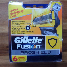Rezerve de ras gillette fusion proshield, ultimul model de la gillette new 2016