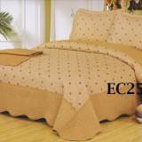 Cuvertura de pat bumbac brodat EC25