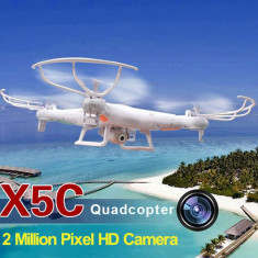 DRONA SYMA X5C-1 UPGRADED V6 - Camera 2Mpx