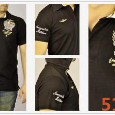 Tricou barbati, Maneca scurta, Bumbac - Tricou Aeronautica Militare brand de lux colectie martie 2016 STOC LIMITAT!