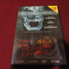 XXX FILM DVDREGIZOR MOARTEA / MONSTRI CANIBALI - Film thriller, Romana