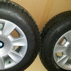 Roti BMW Style 83 cu Anvelope 205/65 R15 Dunlop Winter Sport 4D 2014 - Anvelope iarna Dunlop, T, Indice sarcina: 94