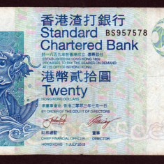 Hong Kong 20 dollars 2003 - bancnota asia