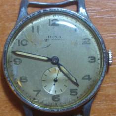 Ceas original doxa antimagnetic anii '40 - '50 - nefunctional - Ceas barbatesc Doxa, Mecanic-Manual, 1940 - 1969