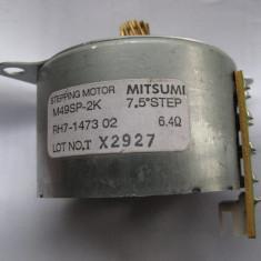 Motor pas cu pas Mitsumi M49SP-2K RH7-1473 02 6.4 OHM 7.5 GRADE / PAS 24V - Motoras pas cu pas, Dacia