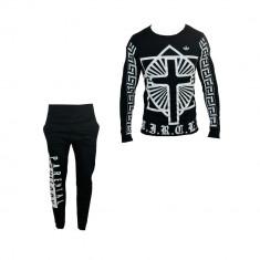 Trening barbati - Trening Adidas Fashion, Model Nou, Primavara, Din Bumbac, Toate Mas B650