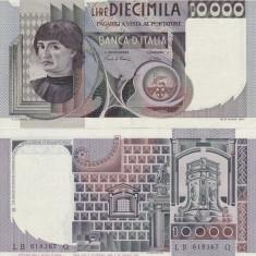 ITALIA 10.000 lire 1980 XF+++!!! - bancnota europa
