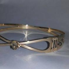 Bratara aur - Bratara fixa de aur