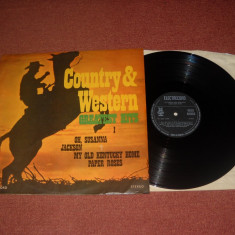 Country & Western-Greatest Hits I (vinil Electrecord sub licenta RFG) - Muzica Country Altele