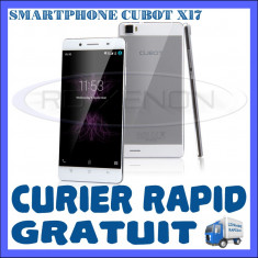 Telefon mobil Dual SIM Cubot, Alb, 16GB, Neblocat, Quad core, 3 GB - SMARTPHONE DUAL SIM CUBOT X17 - 4G, QUADCORE 1.3 GHz, 3GB RAM, 16GB INT, 16MP