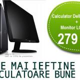 Calculator Dell Dual Core + Monitor LCD 17 Garantie 1 an, PROMOTIE!