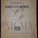Carte hobby - SEXTIL PUSCARIU - RASUNETUL RAZBOIULUI PENTRU INDEPENDENTA IN ARDEAL, 1927