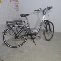 Bicicleta electrica PEGASUS - Bicicleta electrice, 22 inch, 27.5 inch, Numar viteze: 3, Alb