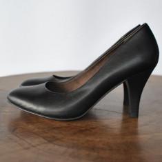 Pantofi dama - TAMARIS PANTOFI NEGRI MARIMEA 36 SI 38