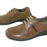 Pantofi barbati, Piele naturala - Pantofi barbatesti de vara piele naturala Gitanos-6910
