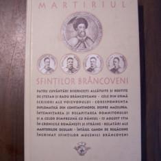 Martiriul Sfintilor Brancoveni (Sophia, 2005) - Carti Crestinism