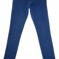 Blugi Conici H&M - (MARIME: 27) - Talie = 80 CM, Lungime = 102 CM - Blugi barbati H&m, Culoare: Albastru, Prespalat, Skinny, Normal