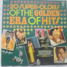 Various – 20 Super-Oldies Of The Golden Era Of Hits _ vinyl(LP) Germania - Muzica Rock & Roll Altele, VINIL