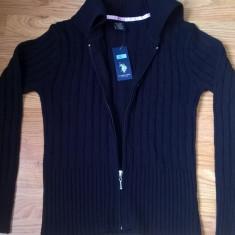 Pulover original US Polo Assn, nou, pentru fete de 11-12 ani, Culoare: Bleumarin