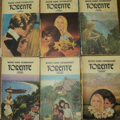 Roman - Torente de Marie Anne Desmarest ( 6 vol)