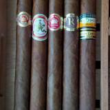 Colectie sampler 5 buc. trabucuri cubaneze format mare - Double Corona