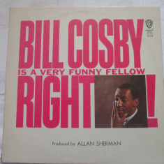 Bill Cosby – Bill Cosby Is A Very Funny Fellow Right! _ vinyl(LP) SUA non music - Muzica Clasica warner, VINIL