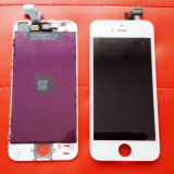 Display LCD Touchscreen Complet Apple iPhone 5 5G Alb White - ORIGINAL, iPhone 5/5S