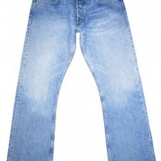 LEVI'S 512 BOOTCUT - (MARIME: 31 x 32) - Talie = 84 CM, Lungime = 105, 5 CM - Blugi barbati Levi's, Culoare: Albastru, Prespalat, Normal