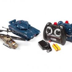 Elicopter de jucarie - Set Elicopter si Tanc cu Telecomanda