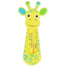 Aparat aerosoli copii - Termometru De Baie Pentru Copii BabyOno Girafa Galbena 774