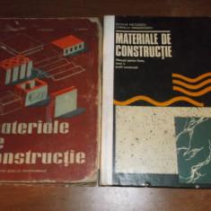 MATERIALE DE CONSTRUCTII DOUA CARTI - Carti Constructii