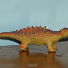 Figurina dinozaur, cauciuc moale, Ankylosaurus, 17x5cm - Figurina Dinozauri