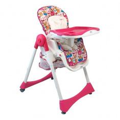 Masuta/scaun copii - Scaun de masa pentru copii Baby Mix YB 602 2861 Pink