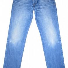 Blugi ESPRIT Slim Fit - (MARIME: 36 x 36) - Talie = 101 CM, Lungime = 120 CM - Blugi barbati Esprit, Culoare: Albastru, Prespalat, Lasat