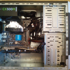 Sisteme desktop fara monitor, Intel Core 2 Quad, 2501-3000Mhz, 8 Gb, 100-199 GB, LGA775 - PC Gaming Core2Quad Q9300 OC 2, 9 GHz, HD 6870 1GB GDDR5, 8GB RAM, Windows 10 Pro