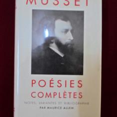 Roman - D'Alfred De Musset - Poesies completes - 345309
