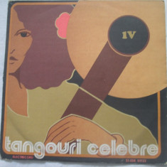 Tangouri Celebre IV _ vinyl(LP) Romania - Muzica Latino electrecord, VINIL