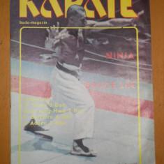 KARATE BUDO MAGAZIN Nr 3 /1990 ( Poster JACKIE CHAN )
