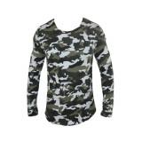 Hanorac barbati Zara, Bumbac - Bluza Zara Man Army Cod Produs 12015