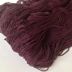 Ata - Fir de tricotat sau crosetat, bumbac 100%, moale, catifelat, moviu frumos