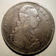 G.279 ITALIA TOSCANA LEOPOLD FRANCESCONE 10 PAOLI 1784 ARGINT 27, 1g - Moneda Medievala, Europa