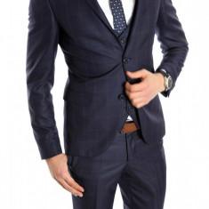 Costum tip ZARA - sacou + pantaloni - vesta costum barbati casual office - 6150