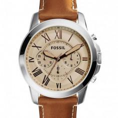 Fossil FS5118 Grant Chronograph ! ! ! Produs nou ! ORIGINAL ! - Ceas barbatesc Fossil, Casual, Quartz, Inox, Piele, Cronograf