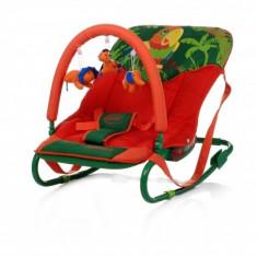 Scaun copii multifunctional - Balansoar copii Jungle Parrot 4Baby