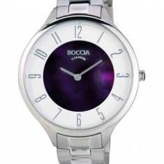 Ceas dama Boccia, Casual, Quartz, Titan, Titan, Analog - Ceas Boccia dama cod 3240-04 - pret 579 lei (Nou, original)