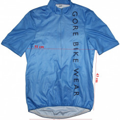 Tricou ciclism Gore Bike Wear, windstopper frontal, barbati, marimea L, Tricouri