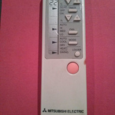 Telecomanda aer conditionat MITSUBISHI ELECTRIC, model mai vechi,
