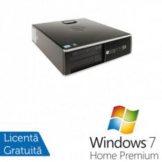 Sisteme desktop fara monitor - HP 8200 Elite SFF, Intel Core i3-2120 3.3Ghz, 4Gb DDR3, 250Gb SATA, DVD-RW + Windows 7 Home Premium