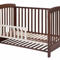 Patut lemn pentru bebelusi - Gard de protectie pentru patut Dreamy Plus Natural Treppy